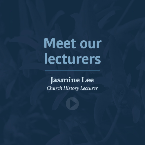 Meet our lecturers - Jasmine Lee