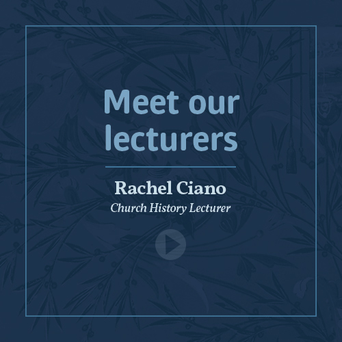 Meet our lecturers - Rachel Ciano