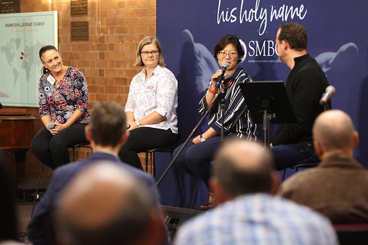 Panel with Rochelle Wainright, Louise Groot, Christine Mar and Matt Vander Heiden