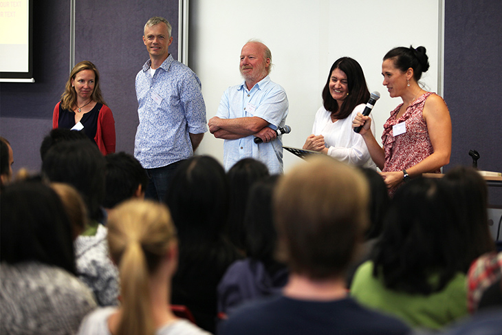 Discussion Panel - Jo, Adam, Bruce, Sandy and Kelly