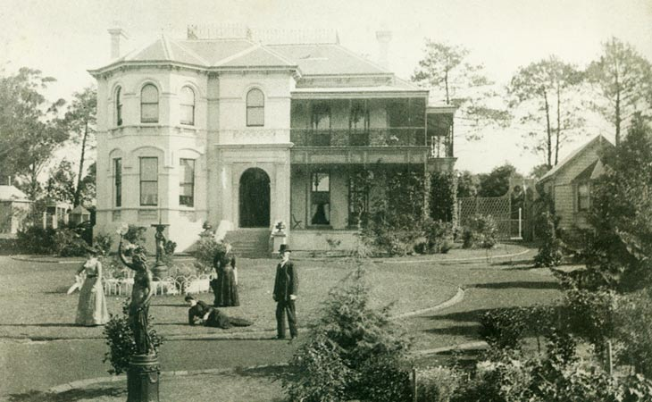 Bainbrigg c1900 - Home of the Groth Family